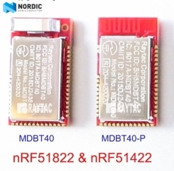 Raytac Nordic Module Line MDBT40 Series