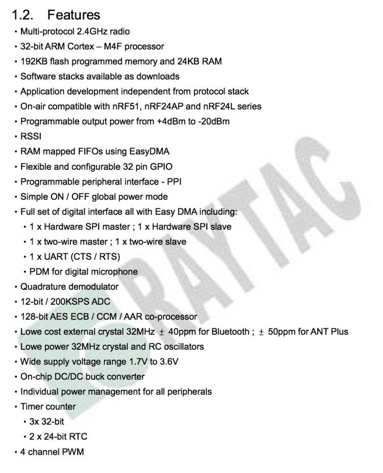 MDBT42Q-192K & MDBT42Q-P192K-Hardware