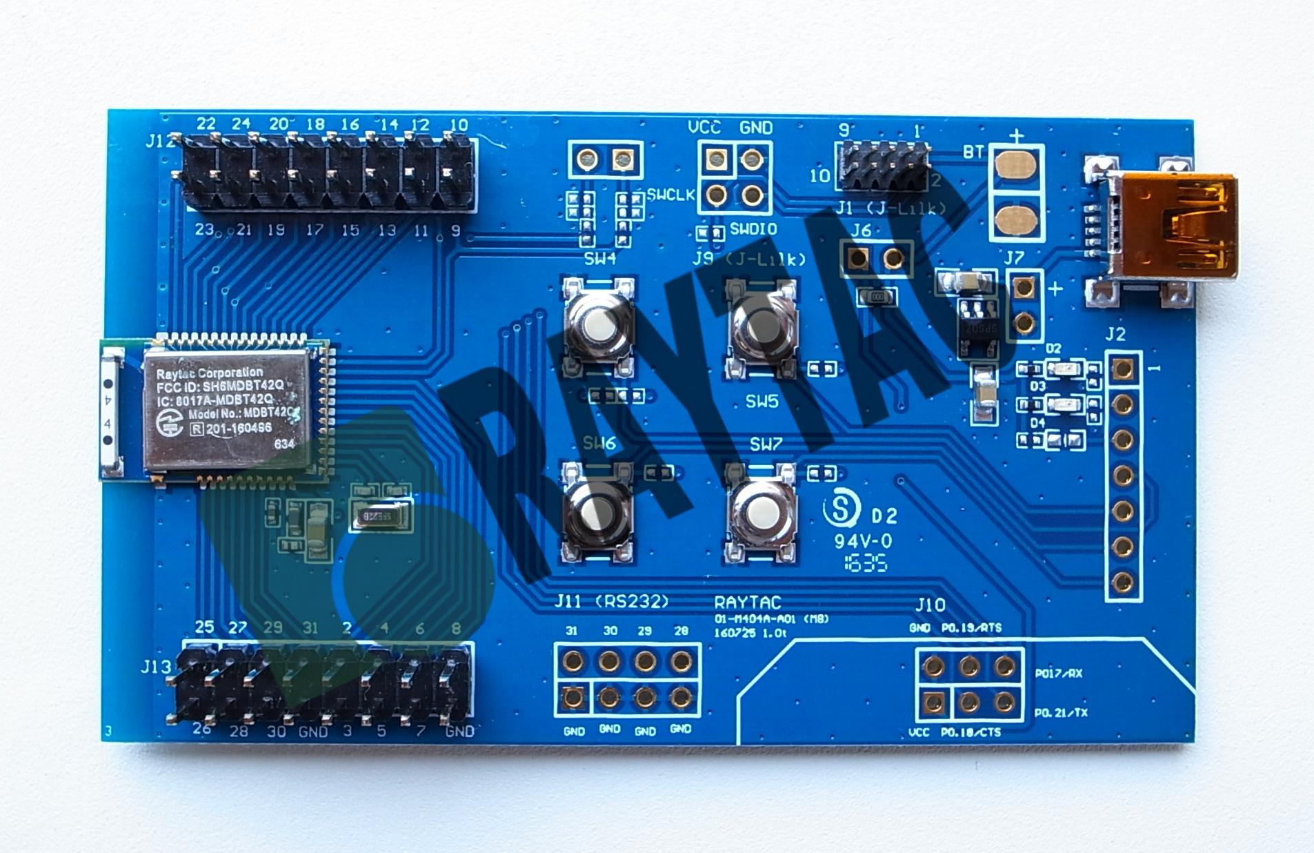 Raytac CorporationBT5/BT4 2/BT4 1/BT4 0 Module MakernRF52810