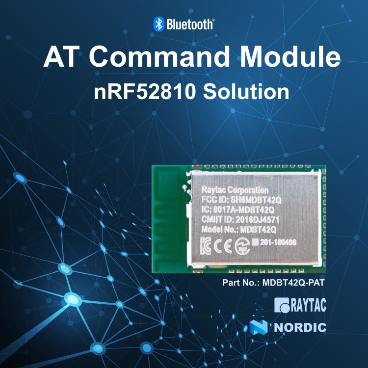 Nordic nRF52810 AT Command Module-MDBT42Q-PAT