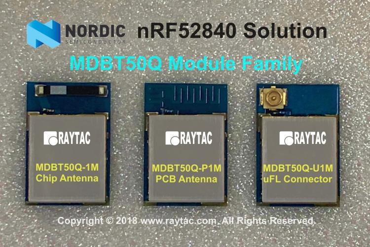 nRF52840 MDBT50Q Family 拷貝